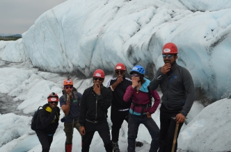Glacier Hike with Team